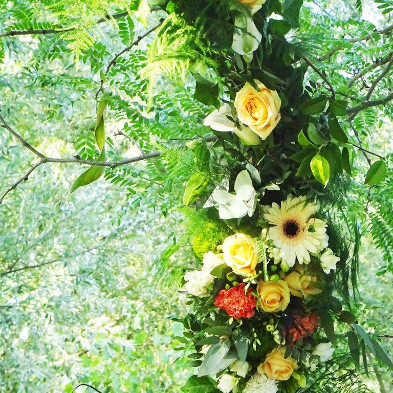 décoration florale cérémonie laïque