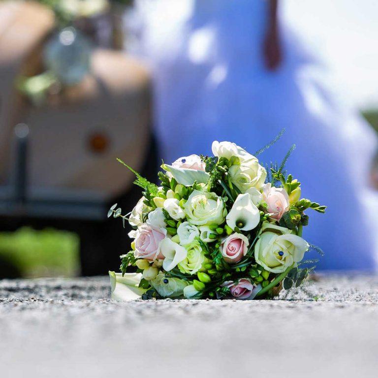 Bouquet de marié pour mariage
